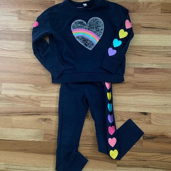 Girls Graphic Sweatsuit